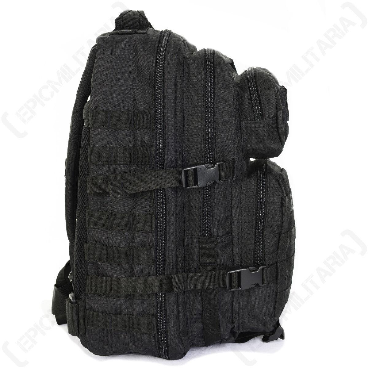 Negro Molle Asalto - Paquete Grande - Asalto Mochila Bolso 36L Militar Ejército Nuevo 085ea0