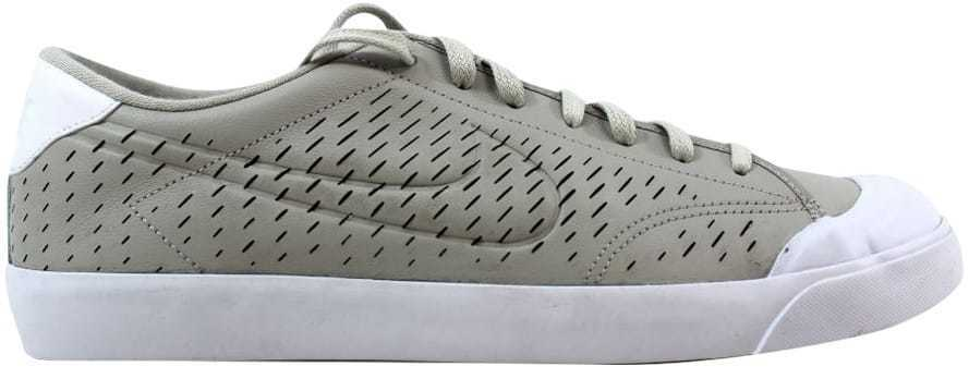 Nike All Court 2 Low Leather Pale Grey/Pale Grey-White 724271-001 Men's SZ 11.5