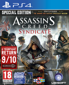 PS4-jeu-ASSASSIN-039-S-CREED-SYNDICATE-edition-speciale-PRODUIT-NEUF
