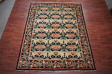 William Morris 9X12 Art & Craft Hand-Knotted Oriental Area Rug Wool 8.10 x 11.11