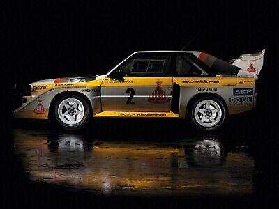 FORD RS200 PROTOTIPO POSTER Retrò Stampa classico anni/'80 annuncio A3