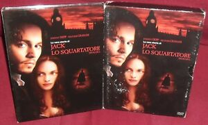 1-BOX-2-DVD-FILM-JOHNNY-DEPP-LA-VERA-STORIA-DI-JACK-LO-SQUARTATORE-RIPPER-horror