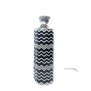 MISSONI-Target-Black-amp-White-Metallic-Silver-Porcelain-Ceramic-Vase-Planter-16