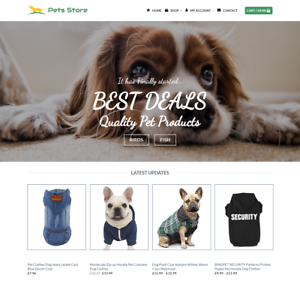 Pet-Store-Website-For-Sale-Earn-425-00-A-SALE-Free-Domain-Web-Hosting
