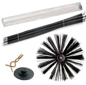 DRAIN-ROD-SET-CHIMNEY-SWEEP-SWEEPING-BRUSH