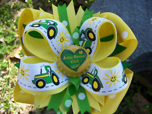 JOHN-DEERE-TRACTOR-GIRL-4-EVER-BOTTLECAP-HAIRBOW
