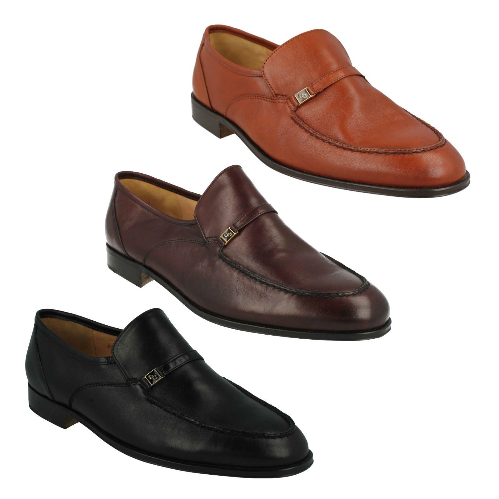 Los últimos zapatos de descuento para hombres y mujeres Hombre Formal Negro Trabajo Marrón Burdeos Elegante Zapatos Mocasín Grenson