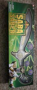 Bandai Power Rangers Legacy White Ranger Saba Sword