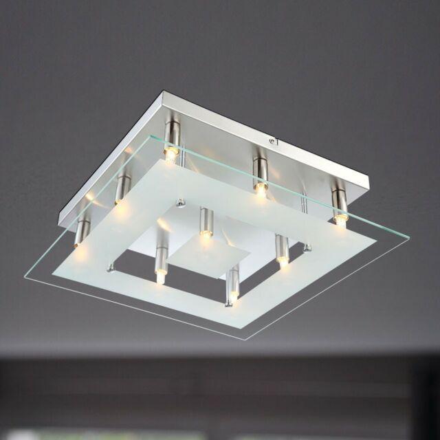 Wofi Plafonnier Lampe Halogène Lyon 9x G9 33 W 907009640000