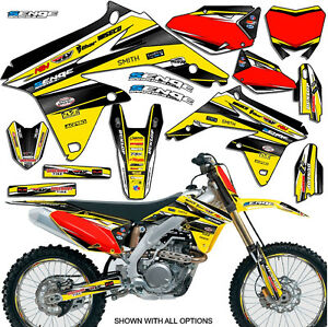 2005 2006 rmz 450 graphics kit suzuki rmz450 05 06 deco decals stickers moto ebay