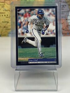 SHIPS SAME DAY Score 1993 Baseball Card NM Jose Lind #39 Kansas City Royals MLB