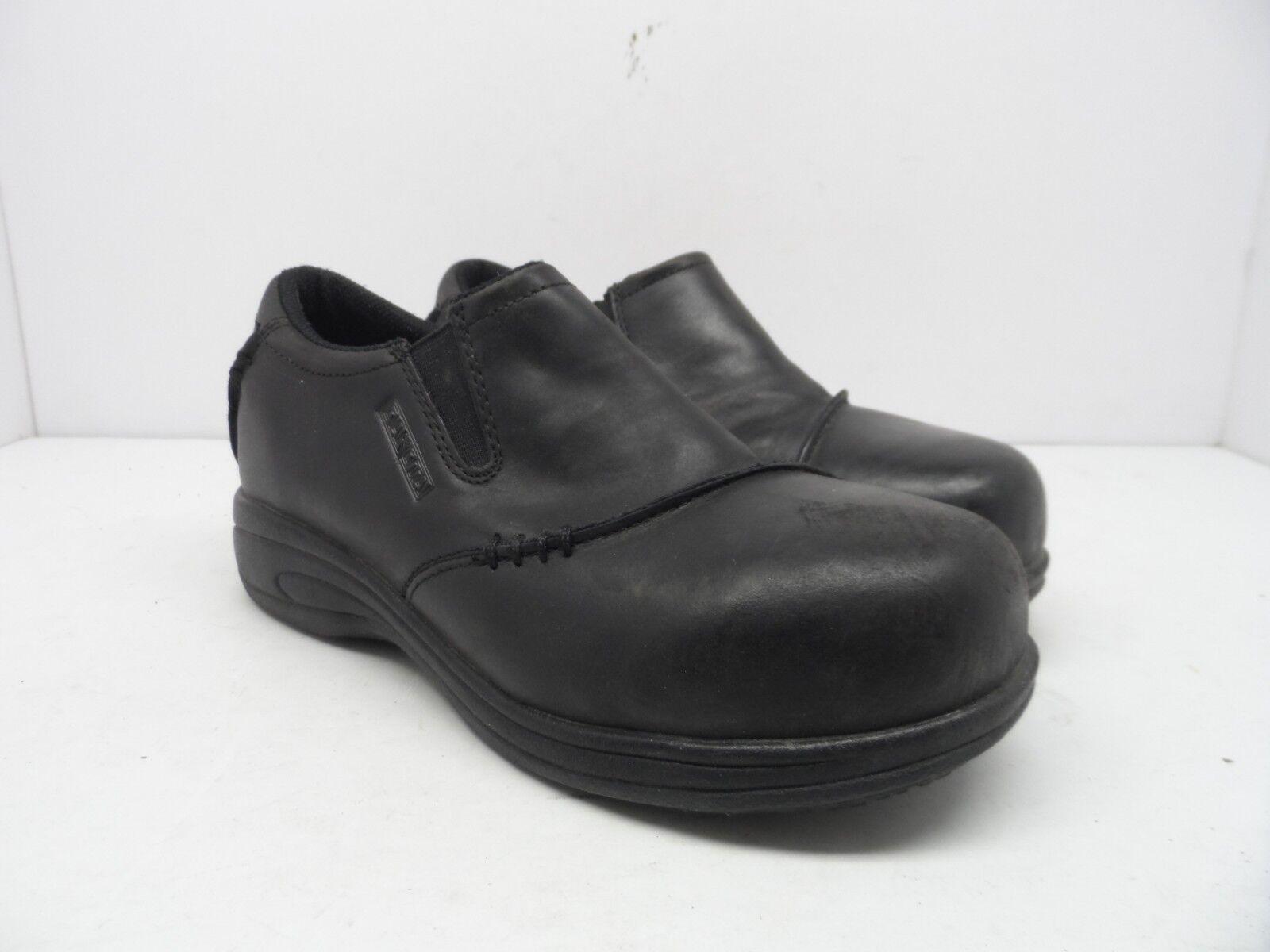 DAKOTA Women's Quad Comfort JStep ATCP Anti-Slip SLip-On Shoe Black Size 7.5M
