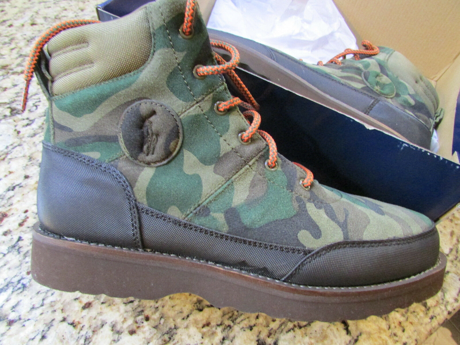 NEW POLO RALPH LAUREN BEARSTED CHUKKA BOOTS SHOES MENS 9.5 ANKLE BOOTS OLIVE
