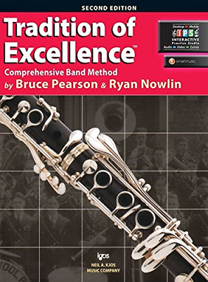 Kjos W61cl Tradition Of Excellence Book 1 Clarinet Invigorating Blood Circulation And Stopping Pains