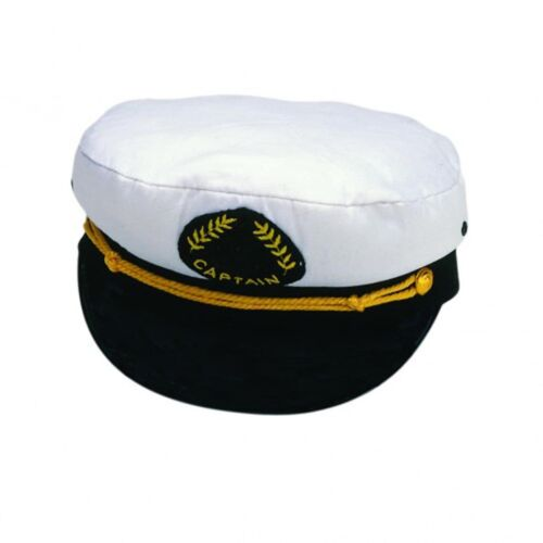 Quality Marine Captains Cap Boating Sailing Yachting Novelty New