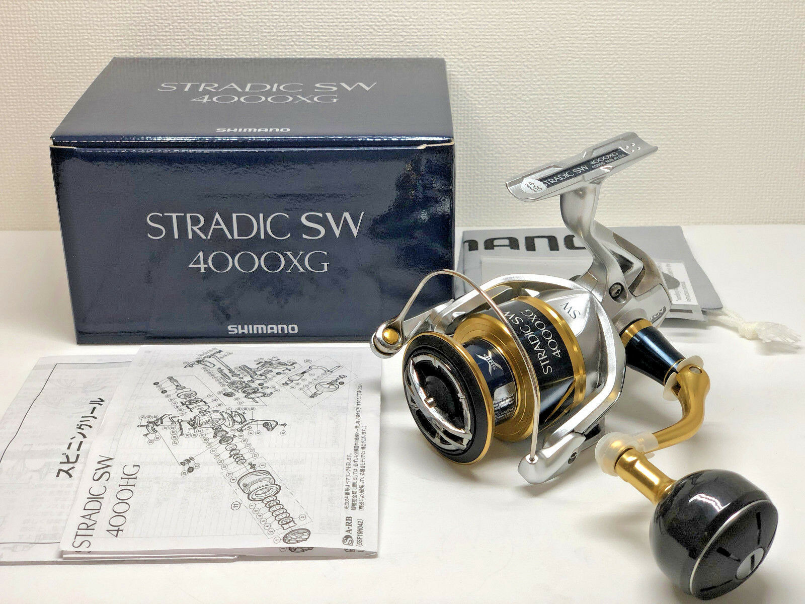 SHIMANO 18 STRADIC SW 4000XG  - Free Shipping from Japan