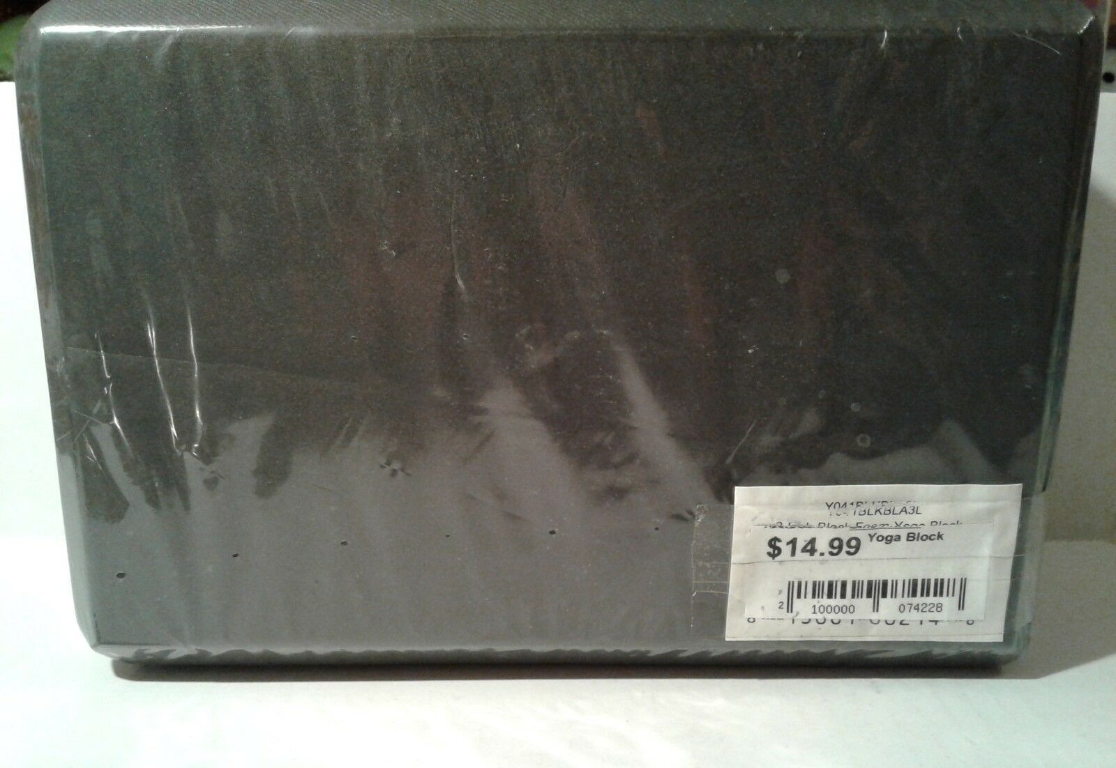 Black Foam Yoga Block 9″ x 6″ x 3″ – SEALED
