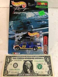 Hot-Wheels-Racing-55-034-Square-D-034-Blue-Suburban-Series-1999