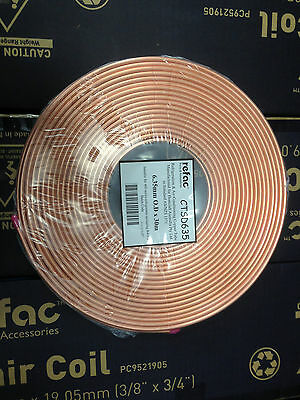 "1/4"" x 30m SOFT COPPER R410A COIL  AIR CONDITIONING PIPE TUBE CONDITIONER"