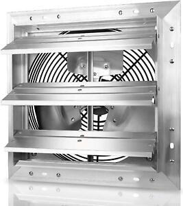 12 Inch Heavy Duty Aluminum High Speed Shutter Exhaust Fan ...