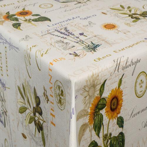 Tischdecke Wachstuch Wachstischdecke RUND-ECKIG Gartentischdecke uni einfarbig