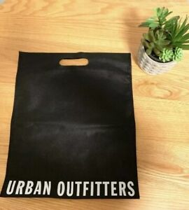 New-Urban-Outfitters-Black-Reusable-Shopping-Tote-Gift-Bag-13-5L-x-18H