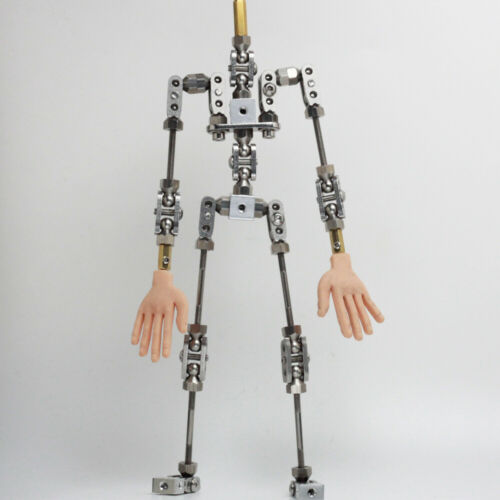PMA-28 stainless steel DIY Studio armature kit with silicone hands