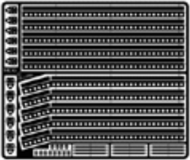 1//25 scale kits MCG2097 Stock Car Window Inner Bracing Strips for 1//24