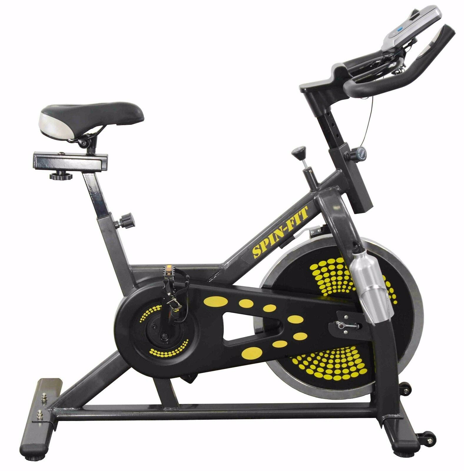 exercise bike fitness gym spin exercise training cycle ebay. Black Bedroom Furniture Sets. Home Design Ideas