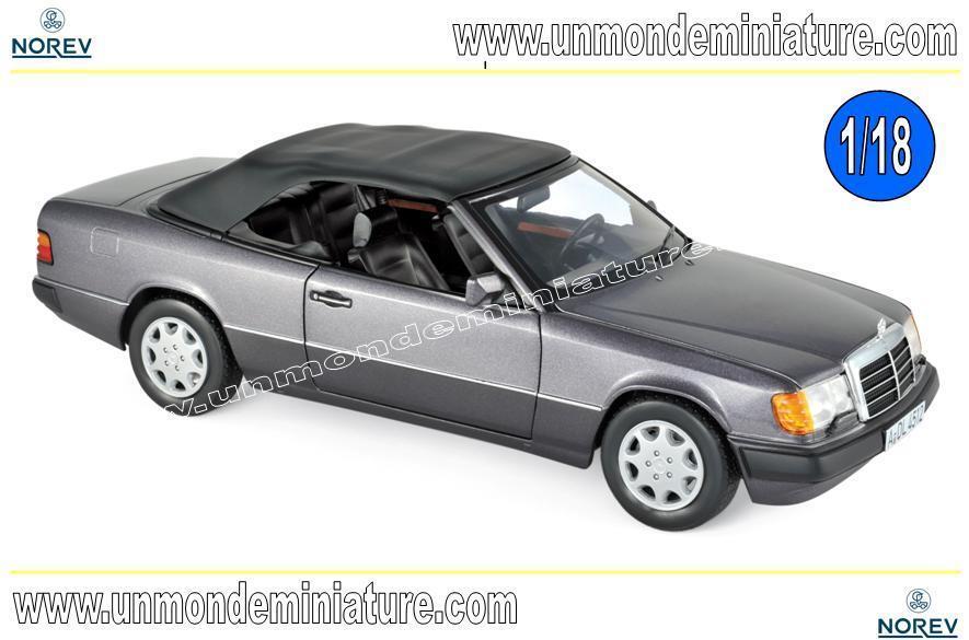 Mercedes-Benz 300 CE Cabriolet 1990 Bornite metallic  NOREV - 183567 - 1 18