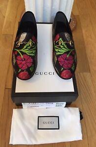 3cf27044f90 NIB Gucci New Jordaan Brocade Horsebit Loafer in Floral  670 - SZ ...