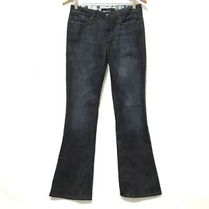 Ankle Joes Full Jeans Muse Cut Dark Pantaloni Blue 26 Denim Length Faded Flare Boot xv6rwxHq