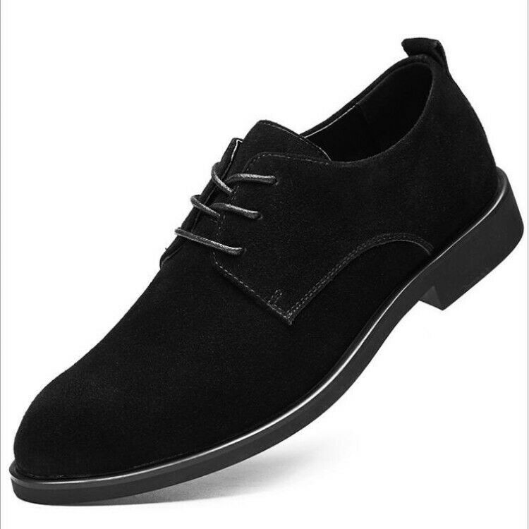 Plus Size EU38-47 Mens Pointy Toe Loafers shoes Lace Up Low Top Casual shoes New
