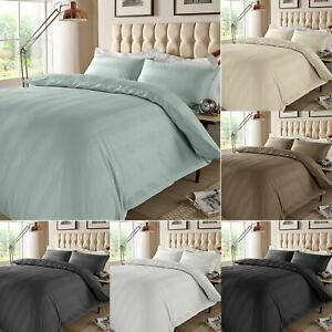Luxury Duvet Cover Set 400 Thread Count Bedding 100