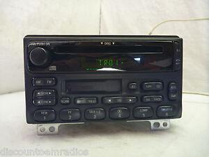 01 02 03 04 Ford Mustang Explorer Radio Cd Cassette Player ...