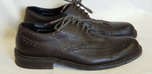 marrone Jeffery uomo West brogue Uk stringate 11 Scarpe Authograph in By pelle 7qwBz58n