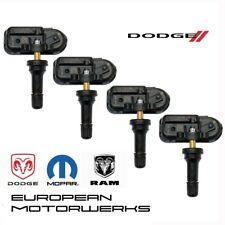 Brand New Set Of 4 2016 Dodge Ram Tpms Tire Pressure Sensors 1500 2500 3500 Oem