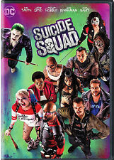 Suicide Squad DVD 2016 NEW Action Fantasy, Crime Thriller  NOW SHIPPING !!!