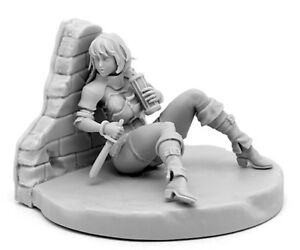 30mm-Resin-Kingdom-Death-Beyond-The-Wall-Unpainted-Unbuild-WH041