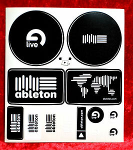 Ableton Live Sticker Sheet
