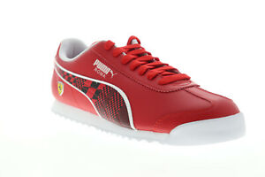 Puma-Scuderia-Ferrari-Roma-33994003-Mens-Red-Motorsport-Sneakers-Shoes-11
