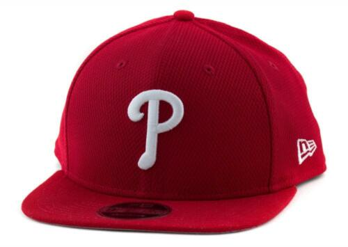 Youth Philadelphia Phillies New Era MLB 9Fifty Hat Genuine Baseball Cap In Red