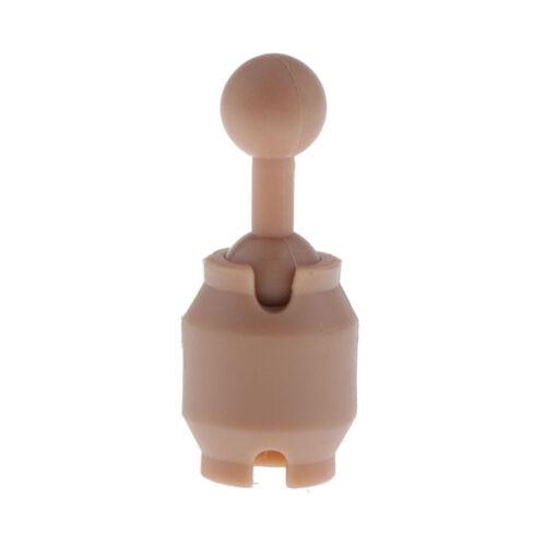 """1//6 NECK PEG connecteur pour Head Sculpt 12/"""" Action Figure Body Mixte"""