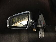 AUDI A4 CAB 2000-2010 DOOR WING MIRROR ELECTRIC PASSENGER SIDE SILVER MATTE BACK