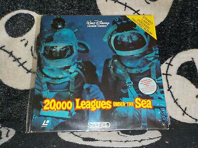 20,000 Leagues Under The Sea Laserdisc Ld Disney Kirk Douglas Gratis Versand $ Exquisite Traditionelle Stickkunst
