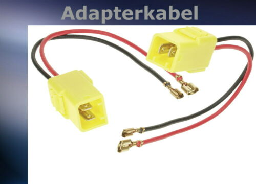 = Adapterkabel Fiat Cinquecento Lautsprecher Kabeladapter