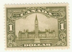 Canada-Stamp-Scott-159-1-Dollar-Parliament-MH