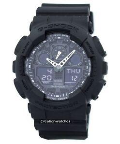 Casio G-Shock GA-100-1A1DR Wristwatch