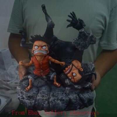 One Piece Monkey D Luffy Statue Resin Figure SD Model GK Anime LK studio