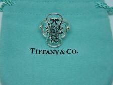 Tiffany & Co. Paloma Picasso Silver Venezia Goldoni Quadruplo Ring Size: 6.5